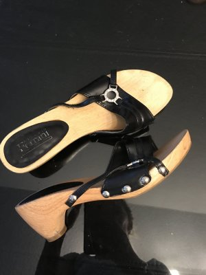 Alberto Fermani High-Heeled Sandals black