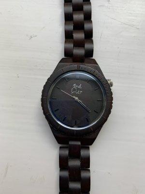 2nd Liar Reloj analógico marrón oscuro-marrón-negro