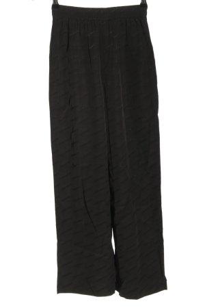 HOLZWEILER Pantalón de cintura alta negro look casual