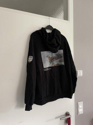 HOLZWEILER Hooded Sweater black