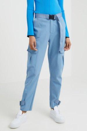 HOLZWEILER Pantalon cargo bleu clair