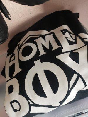 Homeboy Oversized Sweater white-black