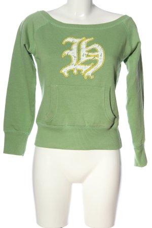 Homeboy Sweatshirt Motivdruck Casual-Look