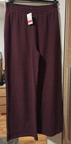 C&A Sweat Pants bordeaux-brown red