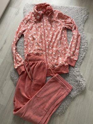 Vestido para casa rojo frambuesa-rosa