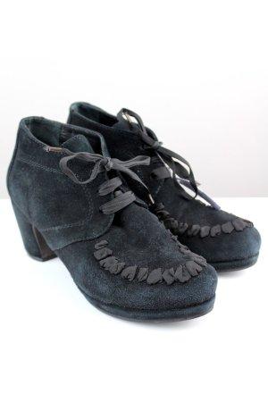 Homrs Hohe Stiefel schwarz Größe 40 1709180370497