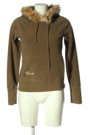 Hooch Hooded Sweatshirt khaki casual look