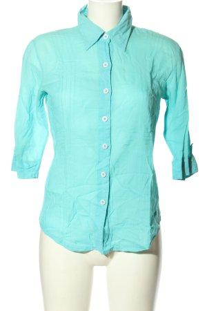 Hooch Short Sleeve Shirt turquoise casual look