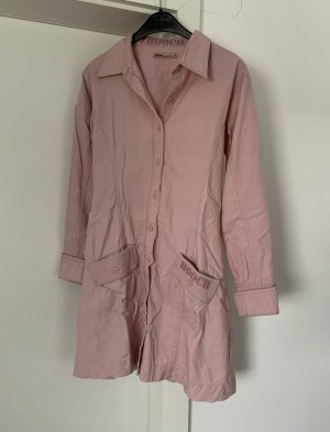 Hooch Camicetta lunga rosa pallido-rosa antico