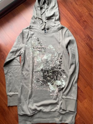 Colours of the World Hooded Sweater grey brown