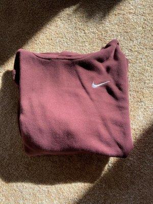 Nike Hooded Shirt blackberry-red