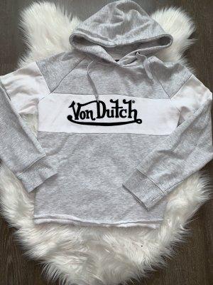 von Dutch Jersey con capucha multicolor tejido mezclado
