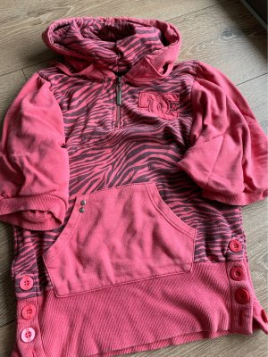 DC Shoes Hooded Sweater salmon