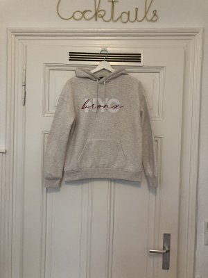 Primark Hooded Sweater natural white