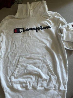 Champion Hooded Sweatshirt white