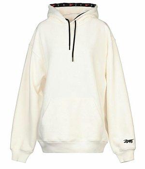 Victoria Beckham Sweat à capuche beige clair