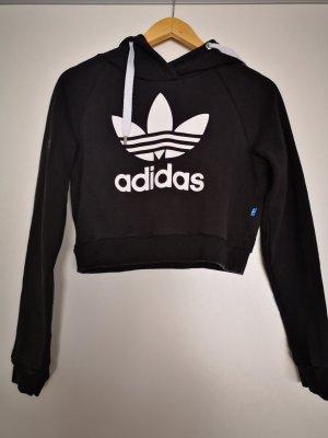 Adidas Maglione con cappuccio bianco-nero
