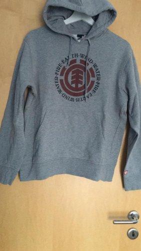 Element Maglione con cappuccio grigio-grigio chiaro
