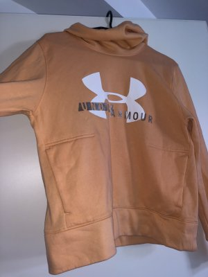 Under armour Capuchon sweater abrikoos