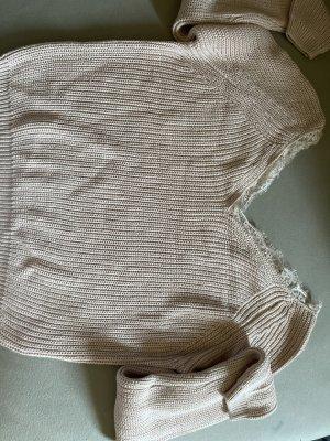 Tally Weijl Maglione lavorato a maglia rosa pallido