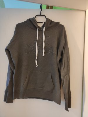 American Eagle Outfitters Jersey con capucha gris oscuro