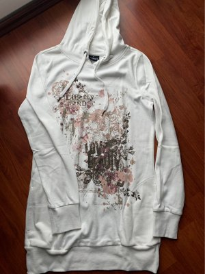 Colours of the World Hooded Sweater white-natural white