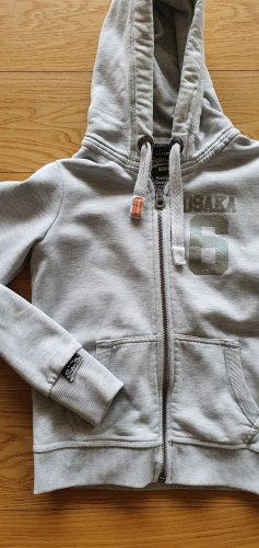 Superdry Sweat Jacket light grey