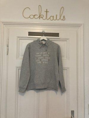 Amisu Hooded Sweater light grey