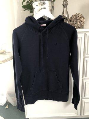 Fishbone Hooded Sweatshirt dark blue