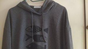 Hooded Shirt black-dark grey