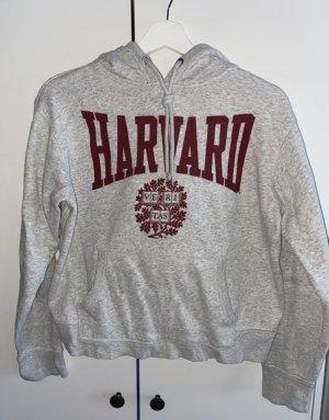 H&M Felpa con cappuccio grigio chiaro