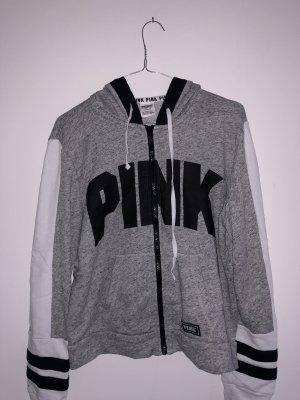 Pink Victoria's Secret Jack met capuchon grijs