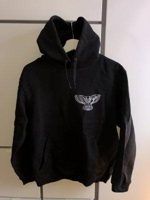 B&C collection Jersey con capucha negro