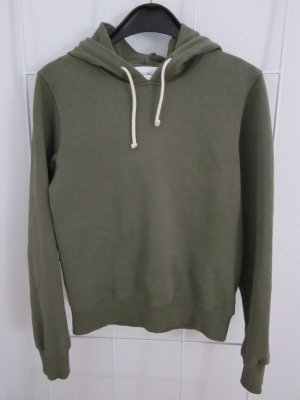 American Vintage Hooded Sweatshirt khaki cotton