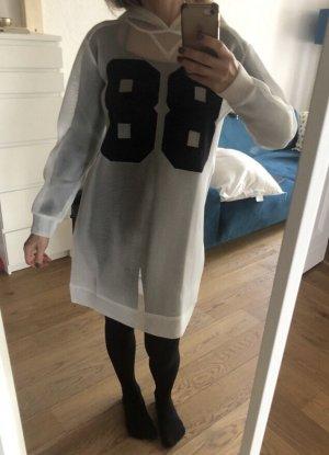 Twin-Set Simona Barbieri Hooded Dress black-white