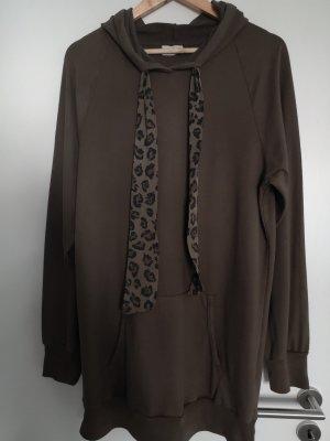 Hoodie / kurzes Sweatshirtkleid Größe XL