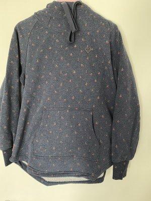 Alife & Kickin Hooded Sweater dark blue