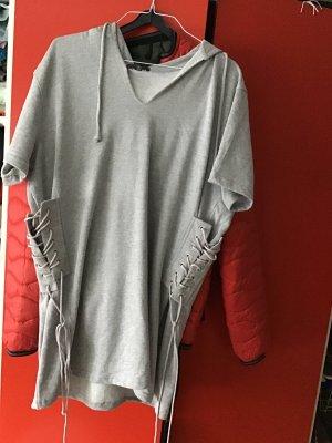 Missguided Hooded Sweatshirt light grey