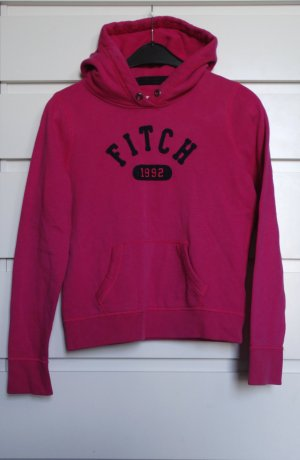Abercrombie & Fitch Hooded Sweater multicolored cotton