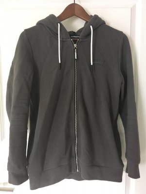 Superdry Maglione con cappuccio antracite-grigio scuro