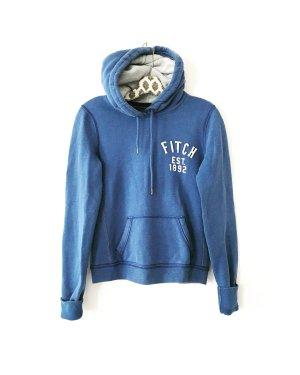 hoodie • sweater • abercrombie & fitch • blau