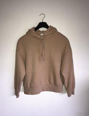 Hoodie Sweater Kapuzenpulli rosa beige Gr.S Amisu
