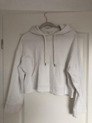 Hoodie Sweater Weiß