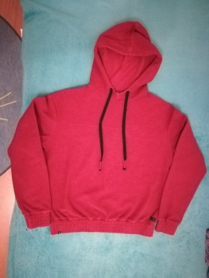 armedangels Hooded Sweater dark red-brick red