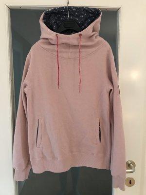 Hoodie von Derbe in rosa