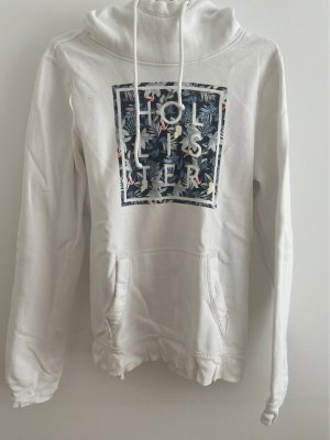 Hollister Hooded Sweater white