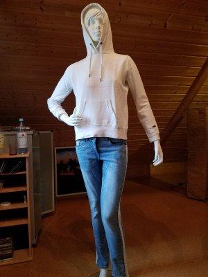 H&M Sweat à capuche blanc