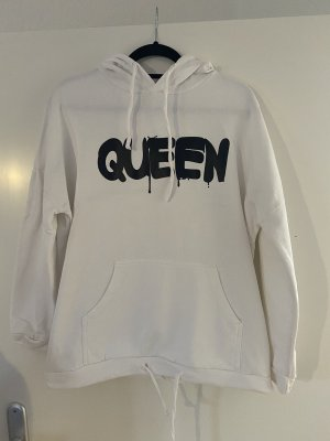 new collection Hooded Sweater white