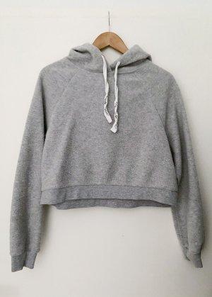 Tally Weijl Hooded Sweater light grey-grey cotton