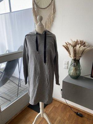 Vestido tipo jersey gris claro